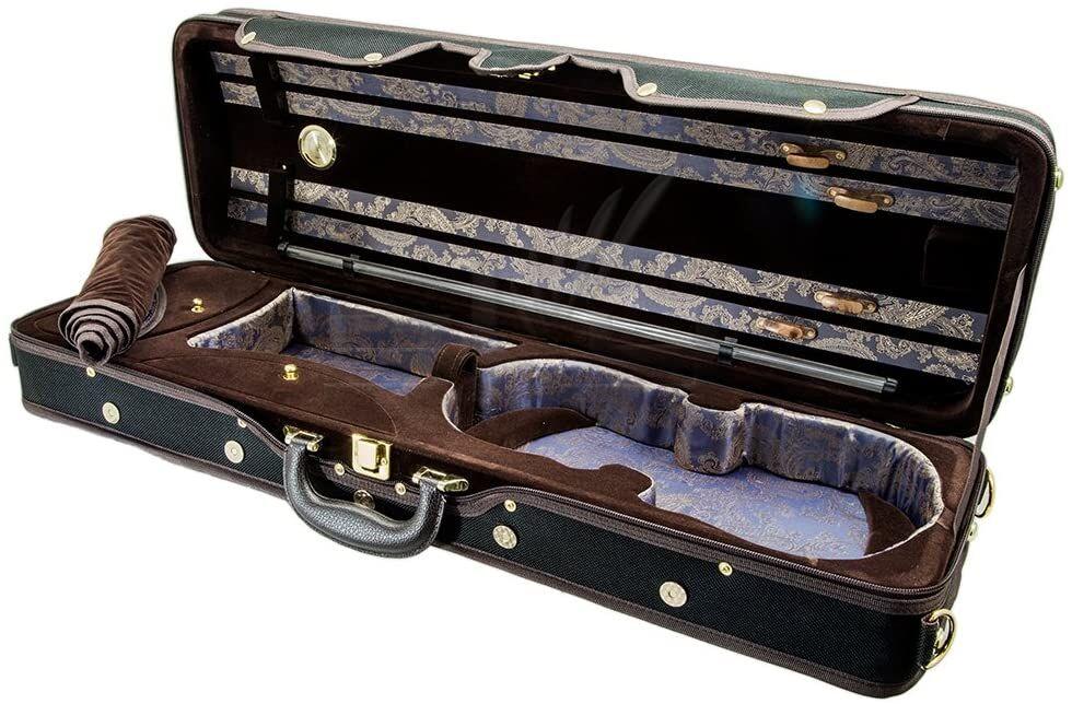 Paititi Full Size Professional Oblong Shape Violin Hard Case