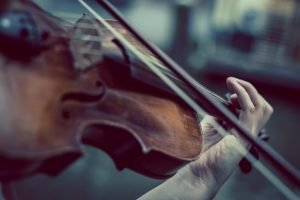 Violin and weather