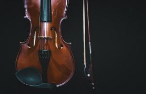 Violin and a bow